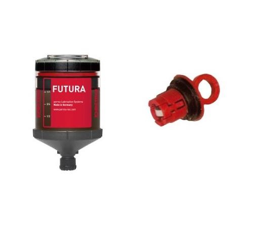 パーマフューチャー(化学反応ガス圧力式・自動給油器・グリス付)