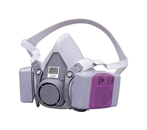 取替式防じんマスク6000/7093-RL3
