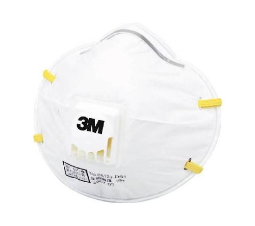 使い捨て式防じんマスク 8812J DS1 2枚入り 排気弁付き