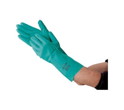 ニトリルゴム手袋ケミシールド中厚手
