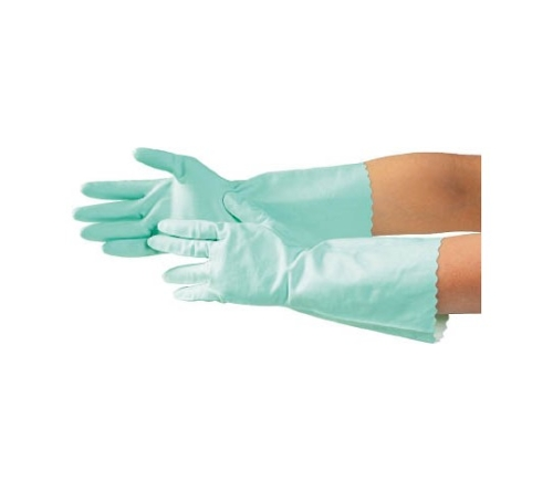 清掃用手袋 S グリーン 7629