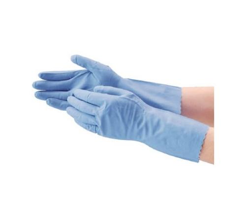 ニトリルうす手 3双組 L ブルー 8676