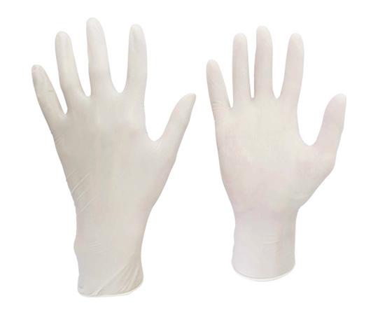 天然ゴム製ディスポ手袋(100枚入)