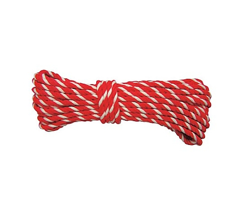 ロープ アクリルロープ 6φ×10m コウハク