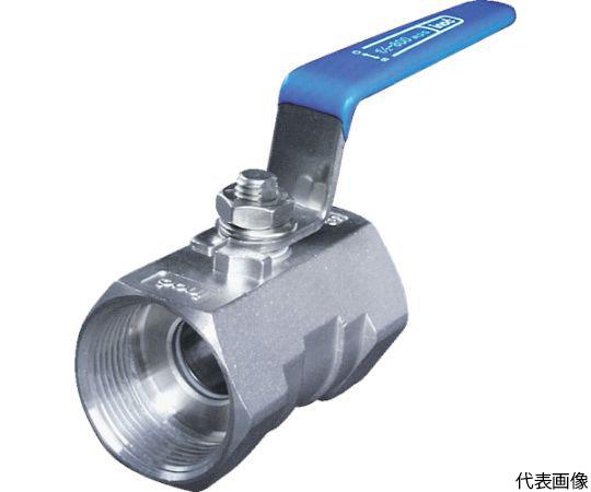 ねじ込みボールバルブ 全長100.0mm 呼び径(A)50 304SRV50A