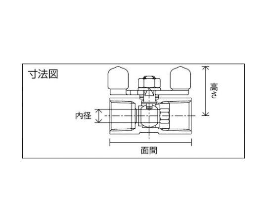 ステンレス製3.92MPaレデュースボアタイプボール弁 呼び径(A):8×呼び径(B):1/4 UBVN14BBUR