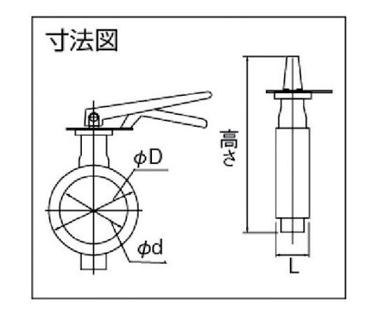 JIS・ISO面間適合汎用バルブ 呼び径(A):40×呼び径(B):1・1/2 700G1T40SN