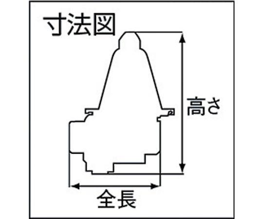 戸別給水用減圧弁 呼び径(A):20×呼び径(B):3/4 GD1520A