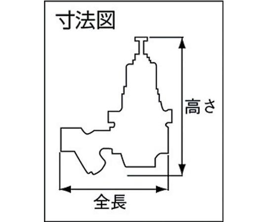 水用減圧弁ミズリー 呼び径(A):20×呼び径(B):3/4 GD24GS20A
