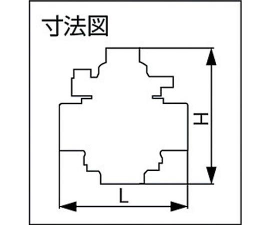 バイパス付スチームトラップ 呼び径(A):15×呼び径(B):1/2 TS715A