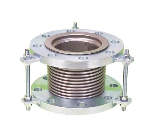 排気ライン用伸縮管継手 5KフランジSS400 100AX150L