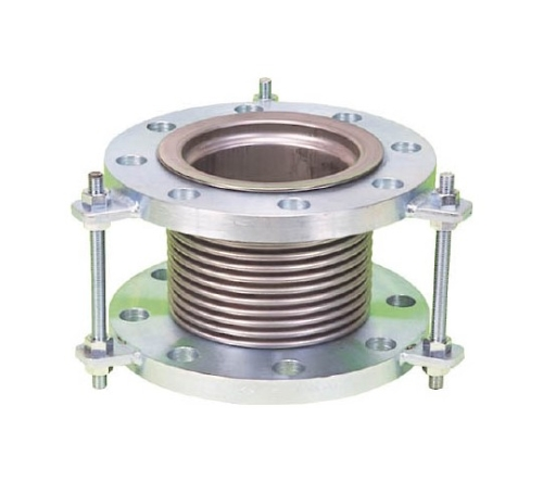 排気ライン用伸縮管継手 5KフランジSS400 150AX150L NK73005KSS400150A150L