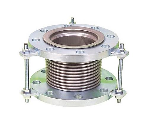 排気ライン用伸縮管継手 5KフランジSS400 200AX150L