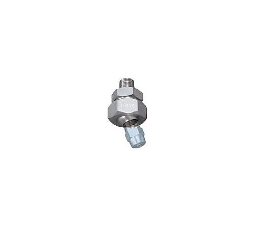 ボールジョイント PP樹脂製 ネジ1/4オス×1/8メス