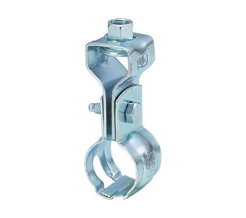 パイプ用支持金具 吊バンド 自在ベース付 適用径15A TPS308