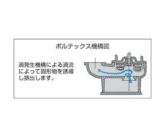 小型汚物混入水用水中ポンプ 非自動 50Hz SX-150 50HZ