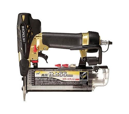高圧仕上釘打機