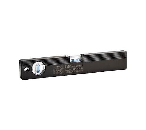 磁石付ベーシックレベルブラック 300mm ブラック/ブルー ED30MBBL