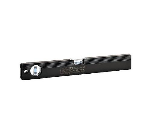 磁石付ベーシックレベルブラック 380mm ブラック/ブルー