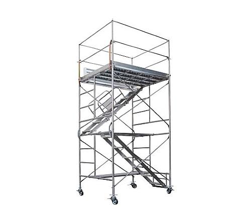 [取扱停止]鋼製移動式足場ローリングタワー(内階段仕様) RAシリーズ