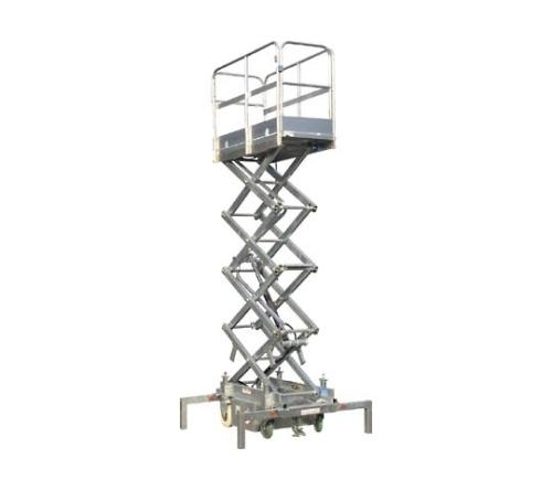 [取扱停止]高所作業台アルミバケットLA型