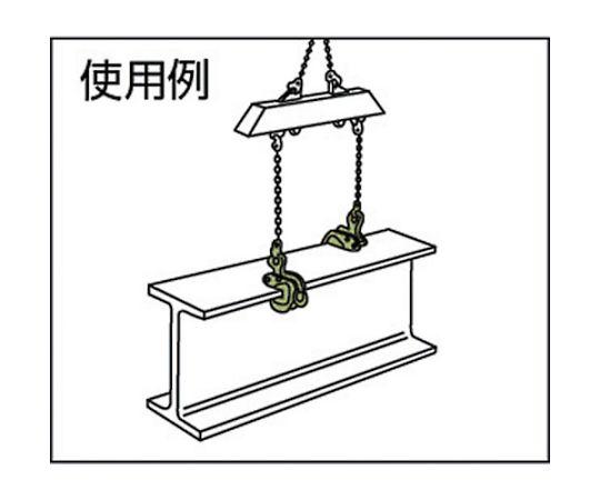 横つり用クランプ AMS-500kg(3-20) AMS-500-3-20