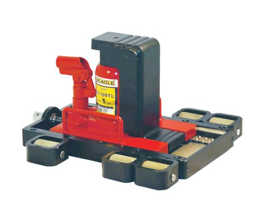 Roller slide Type Jack with nail FR-60TL nail capacity of 3 t FR60TL