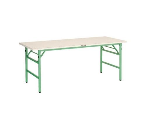 [取扱停止]UFL型折畳型作業台 1500X600XH740 YG色 UFL1560NYG