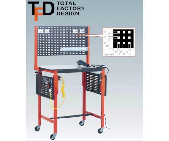 高さ調整式作業台 TFAEM型 900X600 TFAEM-0960