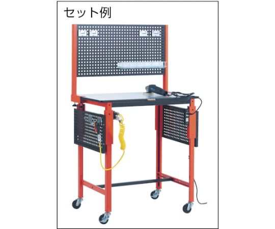 TFAE型作業台用前パネル 902X665 黒 TFCP-900