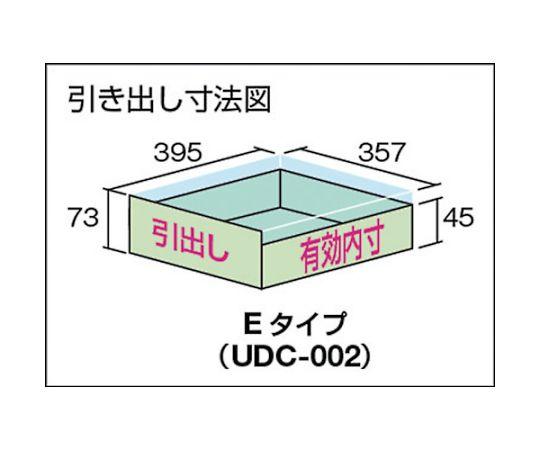 OWC型小型作業台 2段引出付 700X700 キャスター付 OWC-7070E