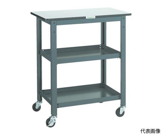 WHT型作業台補助テーブルワゴン 600X450XH900 WHT-4560H