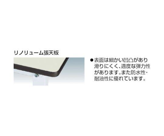 [取扱停止]ワークテーブル昇降タイプ リノリューム天板 W1200×D750 SSR1275NIP