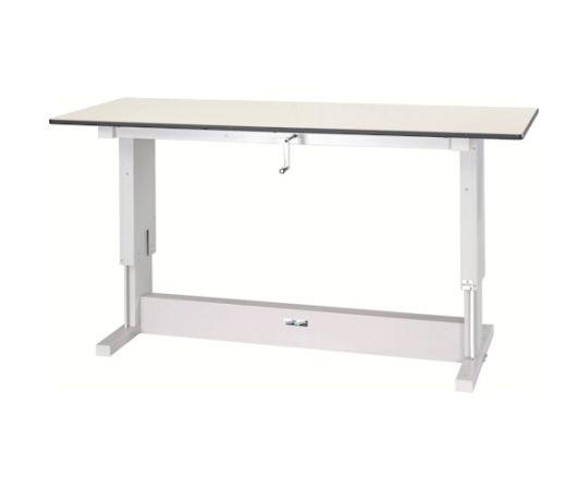 [取扱停止]ワークテーブル昇降タイプ リノリューム天板 W1500×D750 SSR1575NIP