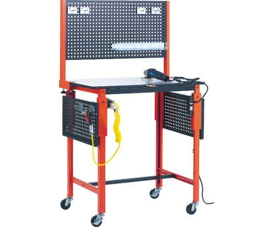 ハンドル昇降式作業台用コンセント 2口・コード3m付 TFKK-200