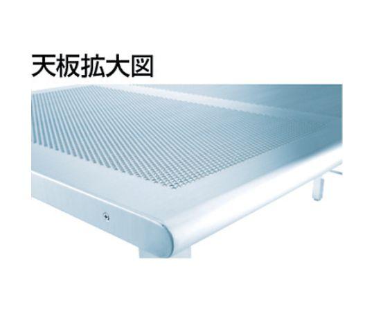 パンチングテーブルSUS304 1800X600 ヘアーライン PTH-1860