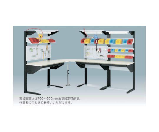 ライン作業台 片面 パネル・棚板型 W1200 ULRT-1200B