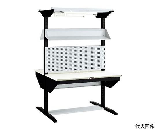 ライン作業台 両面 パネル・傾斜棚型 W900 ULRT-W900F