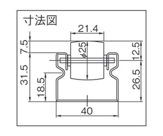 スパホィールJBー53020 30mmピッチ鉄心タイプ2000L JB-53020