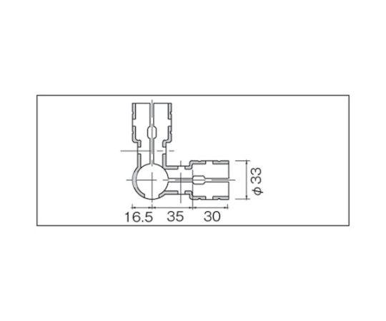 メタルジョイントNSJー2N静電タイプ(ニッケルメッキ) NSJ-2N