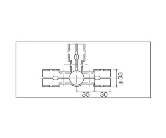 メタルジョイントNSJー3N静電タイプ(ニッケルメッキ) NSJ-3N