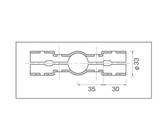 メタルジョイントNSJー4N静電タイプ(ニッケルメッキ) NSJ-4N