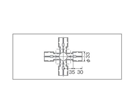 メタルジョイントNSJー5N静電タイプ(ニッケルメッキ) NSJ-5N