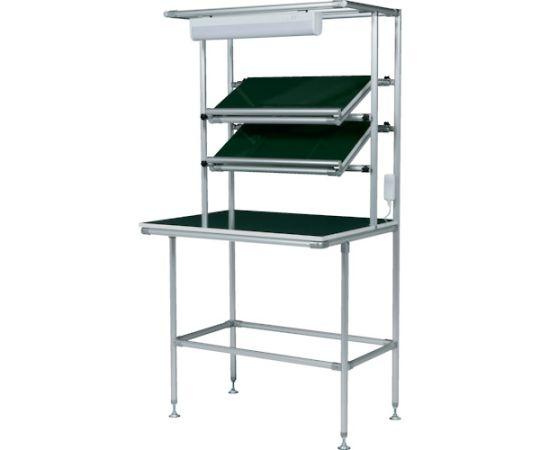 セル生産作業台傾斜棚付 棚板・作業ボードあり 照明60Hz GFTR2880004
