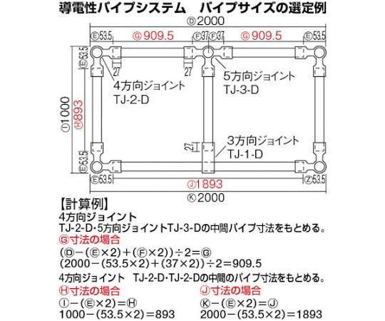 導電性パイプ直径28X3000 TP-3000-D