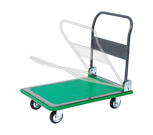プレス製運搬車ハイグレード運搬車(折りたたみハンドルタイプ)