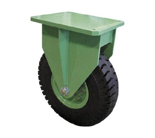 [取扱停止]超重量級キャスター シングル固定車 荷重750kgタイプ 2851