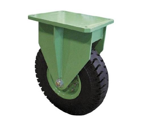 [取扱停止]超重量級キャスター シングル固定車 荷重2400kgタイプ 2855