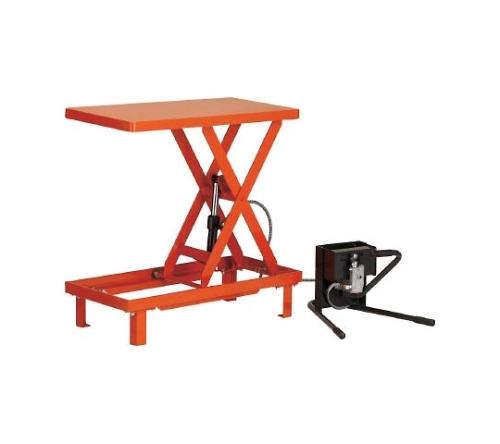 ワークテーブルリフト(足踏み油圧式・固定タイプ)