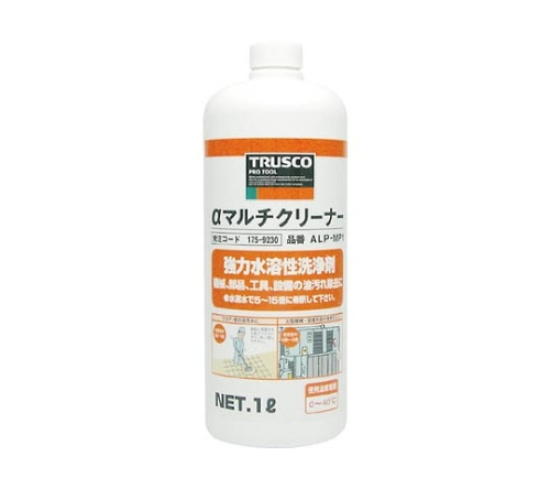 強力水溶性洗浄剤α マルチクリーナー ALPMPシリーズ